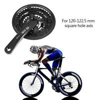 170mm Mountain Bike Crankset Forged Bicycle Crank Sprocket 42T 7/8 Speed MTB M11