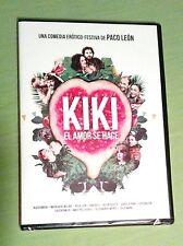 DVD 'Kiki, El Amor Se Hace' (Paco León) - Cajita fina.