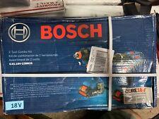 Bosch GXL18V-239B25 18V 2-Tool Combo Kit Brand new