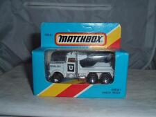 MATCHBOX MB61 PETERBILT DIAL 911 WRECKER TRUCK IN BOX PLEASE SEE THE PHOTOS