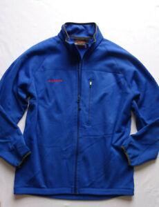 Mammut-Sweatjacke Sport-Jacke-Gr.XL-Herren Blau