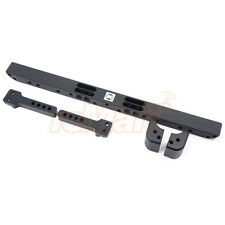 GRC Aluminum Front Bumper Set Black For Traxxas TRX-4 RC Cars Crawler #GAX0079A