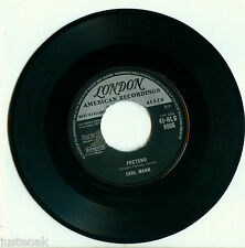 CARL MANN Pretend / Rockin' Love London-HLS 9006 UK 1959 VINYL SINGLE 7""