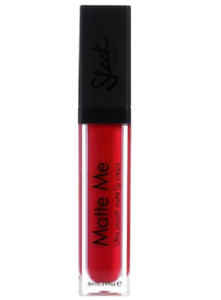 Sleek Make Up - Ultra Smooth Matte Me Lipstick Lip Gloss Cream #433 RIOJA RED
