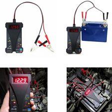 12V Digital Vehicle Motorcycle Battery Tester Voltmeter Charging System Analyzer