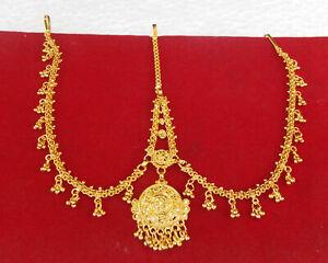 Ethnic Matha Patti South Indian Wedding Fashion Jewelry Forehead Manng Tikka