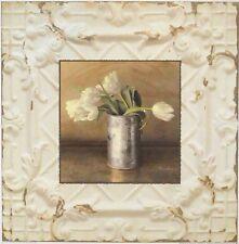 Christin Atria Fünf Tulpen Poster Bild Kunstdruck 37x37cm - Kostenloser Versand
