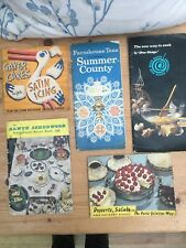 Vintage Selection of Cookery Booklets,Leaflets Gayer Cakes, Desserts - Gelatine