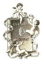 EX-LIBRIS de E. DONNAT par Desmarest.