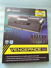 Corsair Vengeance RGB LIGHTING 16GB (2x8GB) DDR4 3000MHz CMR16GX4M2C3000C15 NEW
