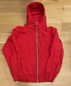 Supreme Mini Box Logo Bogo Mens Mask Zip up Hoodie Size XL Red