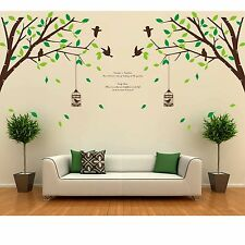 Tree Bird Removable Room Vinyl Decal Art Wall Home Decor Kids DIY Stickers Mural