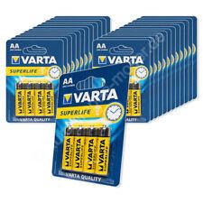 100x Mignon AA / LR6 - Batterie Zink Kohle, Varta Superlife 2006, 1,5V, 25x 4er