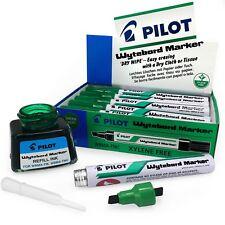 PILOT Whiteboard Rotuladores y tinta de relleno – borrado en seco -Verde-