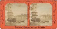 Suisse Lucerne Luzern Photo Stereo BK Paris Diorama Tissue Vintage albumine