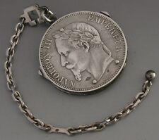 RARE très haute qualité french silver coin multi outil c1920 antique