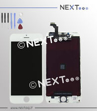 Touch screen vetro retina display frame iphone 6 PLUS bianco + kit riparazione