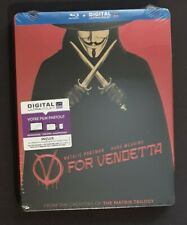 V For Vendetta Steelbook Blu-ray Audio Italiano English Francais