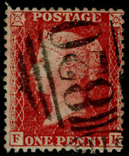 SG42, 1d rose-red PLATE 50, LC14, FINE USED. Cat £40.