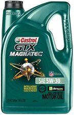 Castrol 03057 GTX MAGNATEC 5W-30 Full Synthetic Motor Oil, 5 Quart New