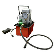Electric Hydraulic Pump Single Acting 10000 Psi Foot Pedal