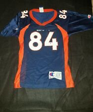 Vintage Denver Broncos Shannon Sharpe  84 Champion Jersey Youth Small 8 8196c132c