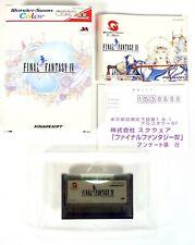 FINAL FANTASY IV Bandai Wonderswan Color Reg Jap Japan (1)
