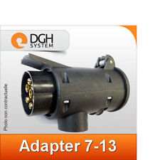 Adaptateur prise attelage (sortie 13 broches) 7-13