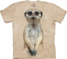 The Mountain Unisex Adult Meerkat Portrait Animal T Shirt