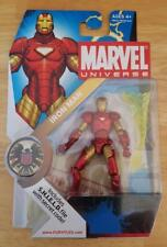 Marvel Universe Iron Man 3.75 inch Figure Nick Fury Files MOC #1 SHIELD File