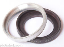 Tiffen #645 Fine Threaded to Series VI 6 Step-Up Adapter + Retainer USED X247