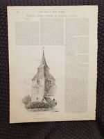 Upminster, Essex - 1898 Book Print