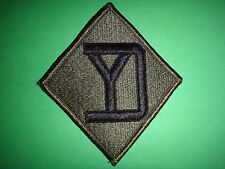 US Army 26th INFANTRY Division Merrowed Edge Subdued Patch