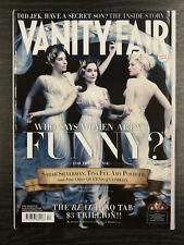Vanity Fair Magazine - Sarah Silverman, Tina Fey & Amy Poehler: April 2008