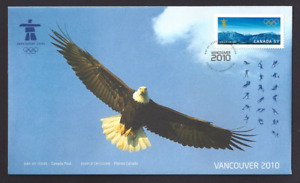 Canada  # 2367   Vancouver  Winter  Olympics   Brand New 2010 Unaddressed Issue