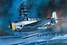Academy Plastic Model Kit 1/72 US Navy Torpedo Bomber TBF-1 12452 NIB Military
