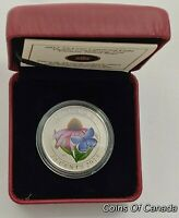 2013 Canada 25 Cent Purple Coneflower And Eastern Tailed Blue #coinsofcanada