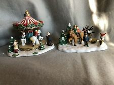 Carole Towne Collection Carousel And Holiday Ride