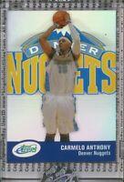CARMELO ANTHONY 2007 eTopps #14 Denver Nuggets PRINT RUN 699