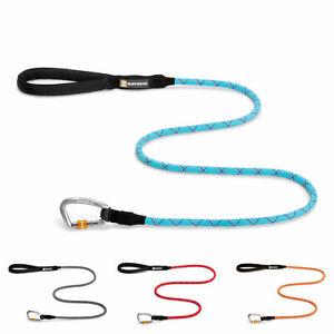 Ruffwear Knot-A-Leash II Climbing Rope Dog Leash w/ Carabiner - All Varieties