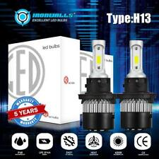 2x H13 LED Headlight Bulbs for Dodge Ram 1500 2500 3500 2006-2012 High Low Beam