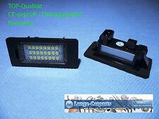 LED Kennzeichenbeleuchtung Set BMW E39 E60 E61 E70 E71 E82 E88 E90 E91 E92 E93