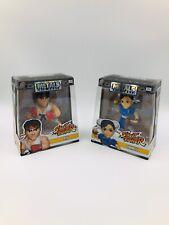 Jada Metals Die Cast Street Fighter Ryu & Chun-Li Capcom Gaming M305 & M308 New