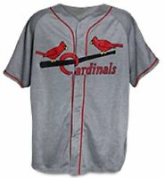 THROWBACK JERSEY sga cardinals 2015 st. louis stl NEW XL vintage gray promo grey