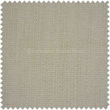 Modern Hard Wearing Quality Textured Cream Hopsack Thick Sofas Upholstery Fabric