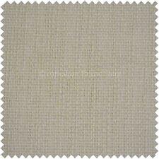 Modern Resistente Qualità Crema con trama diagonale spessa DIVANI Tappezzeria Stoffa