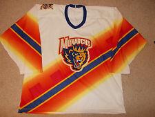 Vtg-1990s Carolina Monarchs Ahl Bauer Defunct Hockey Jersey