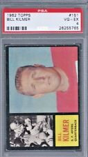 1962 Topps Card 152 BILL KILMER ROOKIE PSA 4  49ers Saints Redskins UCLA vintage