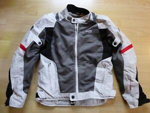 Revit ARC H20 Motorrad Textiljacke Schwarz//Wei/ß//Neon Gelb 3XL