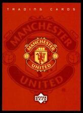 UPPER Deck Manchester United 2001-02 (PROMO CARD) - RACCOGLITORE OFFERTA/title card